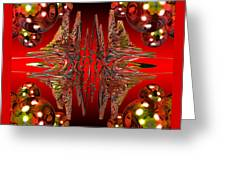 Containment Field-red Greeting Card
