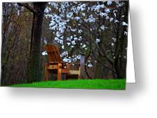Contemplation Chair Greeting Card