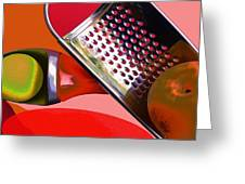 Contemporary Kitchen2 Greeting Card
