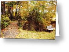 Contented Path Greeting Card