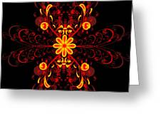Continental Abstract Greeting Card
