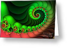 Contrasted Harmony Greeting Card