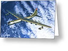 Convair B36 - Oil Greeting Card