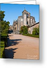 Convent Of Christ Greeting Card