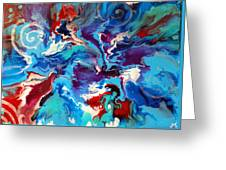 Convergence Of The Four Winds Greeting Card