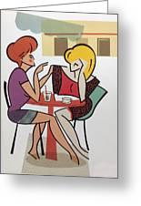 Conversation Greeting Card
