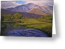 Convict Creek-eastern Sierras Greeting Card