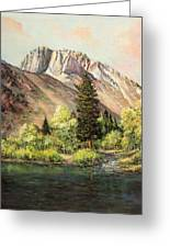Convict Lake In May Greeting Card