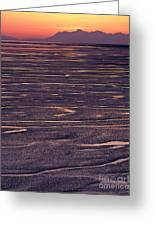 Cook Inlet Sunset Greeting Card