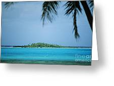 Cook Islands, Rarotonga Greeting Card
