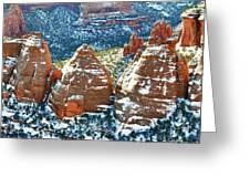 Cook Ovens Overlook Greeting Card