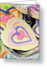 Cookie Heart Greeting Card