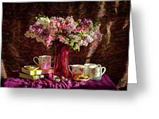 Cookies, Coffee And Comfort Greeting Card
