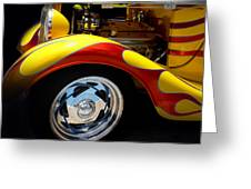 Cool Hot Rod Greeting Card