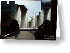 Cool In St. Louis Greeting Card by Denise Workheiser