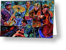 Cool Jazz Greeting Card