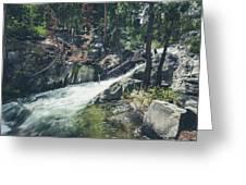 Cool Mountain Stream Greeting Card