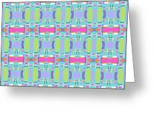Cool Plaid No. 5 Greeting Card