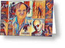 Cool Tarantino Greeting Card