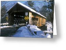 Coombs Winchester Covered Bridge Greeting Card