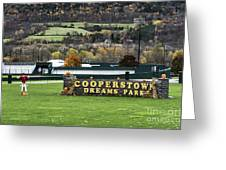 Cooperstown Dreams Park Greeting Card