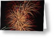 Coors Field Fireworks 4 Greeting Card