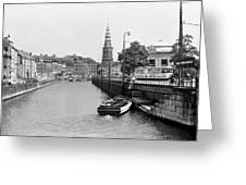 Copenhagen Canal 1 Greeting Card