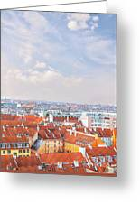 Copenhagen City Denmark Greeting Card