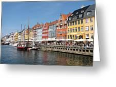 Copenhagen Harbor Greeting Card