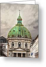 Copenhagen Marble Church Greeting Card