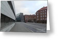 Copenhagen Old And New Greeting Card