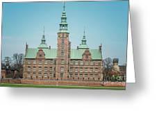 Copenhagen Rosenborg Castle Back Facade Greeting Card