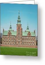 Copenhagen Rosenborg Castle Facade Greeting Card