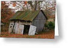 Copening Hill Shed Greeting Card