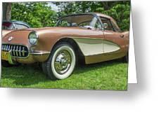 Copper 1967 Corvette  Greeting Card