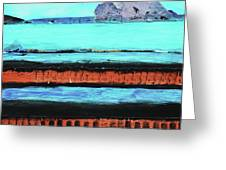 Copper Cliffs Beachside Greeting Card