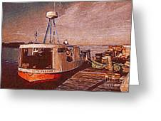 Copper Harbor Waterfront Greeting Card