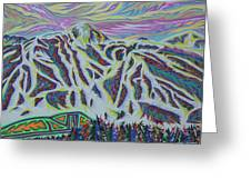 Copper Mountain Greeting Card
