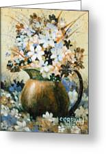 Copper Pitcher Greeting Card