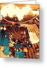 Copper Reflections Greeting Card