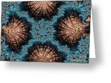 Copper Shells Greeting Card