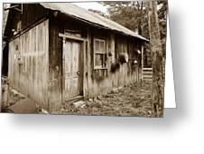 Copper Valley Shack Greeting Card