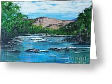 Coppins Crossing, Act, Australia Greeting Card