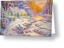 copy of Evening Glow Greeting Card