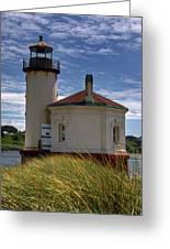 Coquille Lighthouse V Greeting Card