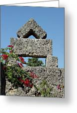Coral Castle For Love Greeting Card