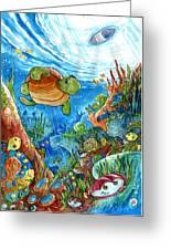 Coral Dreams Greeting Card
