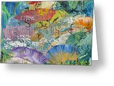 Coral Fantasy Greeting Card