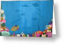 Coral Paradise Greeting Card
