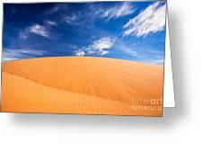 Coral Pink Sand Dunes State Park, Kanab, Utah Greeting Card by Bryan Mullennix